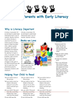 teaching reading newsletter