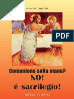 Comunione Sulla Mano New