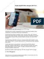 Daftar 10 Hotel Bujet Rp200 Ribu Dengan Wi-FI Di Jogja