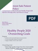 safe patient handling program proposal