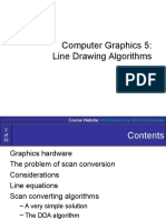 Graphics5-ScanConvertingLines