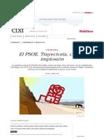 El PSOE. Trayectoria, crisis e implosión | ctxt.es