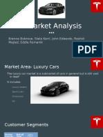 tesla market analysis