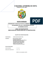 INTEGRACION Y USO DE LAS TIC EN LA CARRERA PROFESIONAL DE INGENIERIA CIVIL DE LA UNIVERSIDAD NACIONAL AUTONOMA DE CHOTA