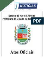 Atos Oficiais de Nova Iguaçu 01-11-16