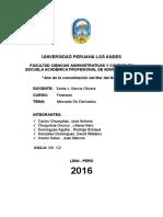 Mercado de Derivados Financieros UPLA