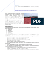 Evaluating Pipeline Coating Performance