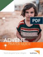 world vision advent prayer guide