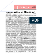 Sentencias en casación - Edición 619 - 7 de Diciembre Del 2009 -112 Pags.