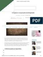4 enigmas e conspirações da Antiguidade - TecMundo.pdf