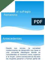 Derecho al sufragio Femenino.pptx