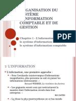 1 - L Information Le SI Et Le SI Comptable