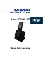 Manual DTD-3000 DUO 395