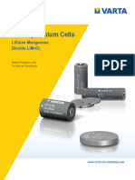 HANDBOOK Primary Lithium Cells Varta