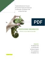 PESTICIDAS ORGANICOS