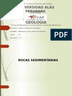 Trabajo de Rocas Sedimentarias, Igneas y Metamorficas Almno.mendoza Cayllahua Luis Miguel