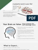 Your Brain Webinar Handout