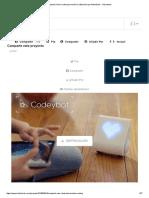Codeybot_ Nuevo Robot Que Enseña Codificación Por Makeblock - Kickstarter
