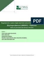 LMG01PA Regolamento 2014 2015