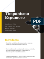Timpanismo - Clínica de Grandes