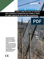 GeobruggAG Caida de Rocas GBE 100 3000A Es