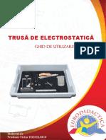 Trusă de Electrostatică Ghid-De-utilizare