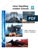 Maersk Training Anchor Handling Simulator Course