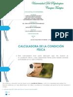 Actividad 6. Reporte de Como Usar Las Calculadoras de La Salud