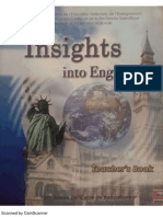 Insights Into English- Teacher s Book