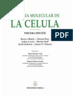 Bilogía Molecular de La Célula_Bruce Alberts_2002_3ra Ed