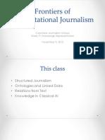 Computational Journalism 2016 Week 9