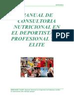 Manual de Nutricion en El Deportista Finalizado