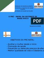 Pré-Natal Da Gestante de Baixo Risco (MS, SP - 2006)
