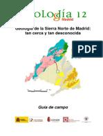 Geología de la Sierra Norte de Madrid