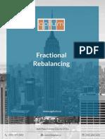 Qplum Fractional Rebalancing