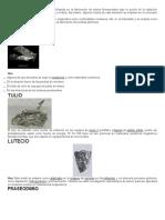 Pequeñas cantidades de uranio son utilizadas en la fabricación de vidrios fluorescentes bajo la acción de la radiación ultravioleta y coloreado.docx