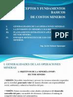 Conceptos y Fundamentos Basicos de Costos de Mineria i