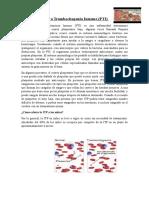 Púrpura Trombocitopenia Inmune