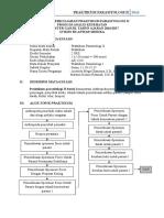Kontrak Perkuliahan Praktikum Parasitologi II