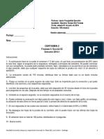 Pauta Certamen 2 Finanzas II 2014-1