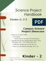 science project handbook