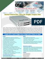 UPS 3000X Datasheet