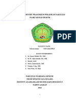 Laporan Individu Praktikum Peradilan Fakultas Syari