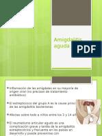 Amigdalitis aguda