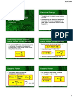Electrical Energy and Power Handout2