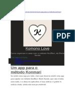 Konmari App