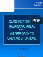 Classification of Hazardous Áreas