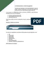 Partes y Comandos de Router