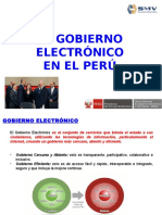 Gobierno Electronico PERUANO