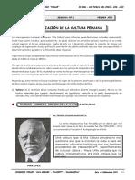 h.p - Guia Nº1 - Organización de La Cultura Peruana